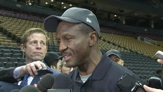 Former Raptors head coach Dwane Casey on returning to Toronto