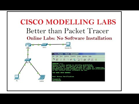 8.  Cisco Modeling Labs: Cisco Packet Tracer Online Simulator for Network Simulation