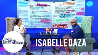 TWBA: Isabelle Daza on drafting a contract for her house helpers