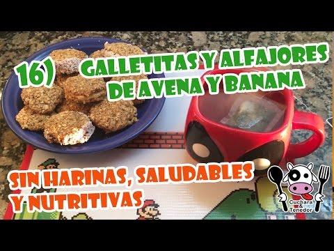 5 GALLETAS de AVENA en POCOS MINUTOS ♥︎  con y sin horno, plancha, air fryer y microondas
