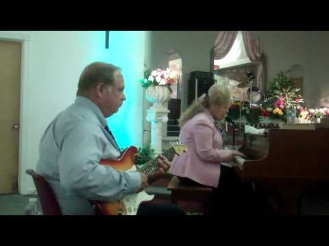 "Brother and Sister Wright singing…""Praise Him"" @ The Apostolic Lighthouse"