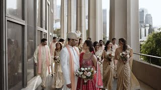 Mixed Indian-Korean Wedding, in the heart of Downtown LA