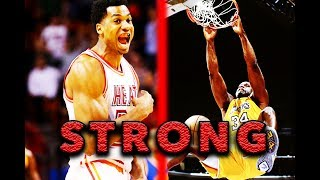 THE 10 STRONGEST NBA PLAYERS EVER