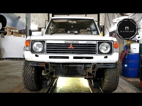 "Watch ""Mitsubishi Pajero mk1 restoration, learning to weld ..."