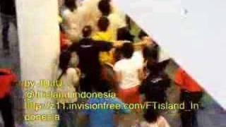 F.T Island - Minhwan got hit by some nuna x: