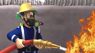 Feuerwehrmann Sam ⭐️ Feuertraining mit Sam und dem Team! 🔥Rettungen mit Sam   Kinderfilm