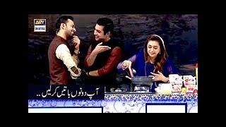 Waseem Badami & Iqrar-Ul-Hassan Aap Dono Batein Karlein :D