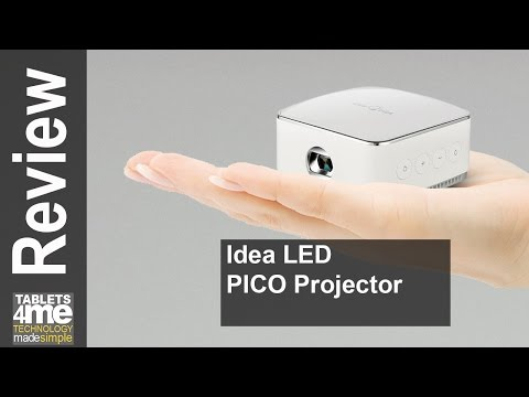 Review | iDea LED Pico Projector - HD Video