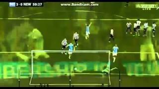 Yaya Toure Amazing Free Kick Goal Manchester City 30 Newcastle 19082013