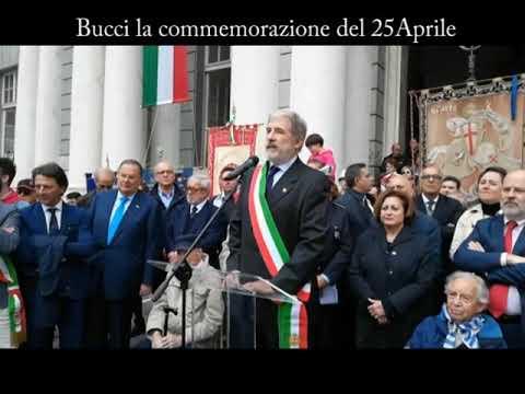 25 APRILE : GIOVANNI TOTI - MARCO BUCCI A GENOVA