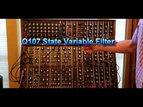 Analog Drums on a Modular Synthesizer