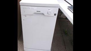 Danby Mini Dishwasher 8 Place Setting Compact Portable Dorm Apartment Video