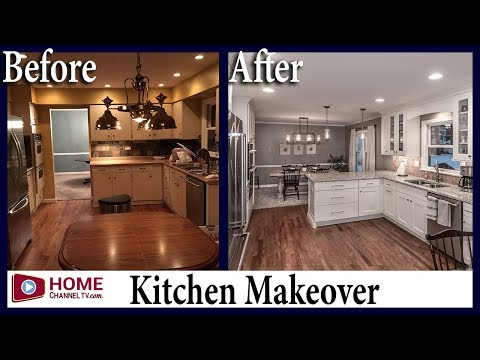 Kitchen Remodel - Before & After | White Kitchen Design