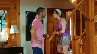 فتون تعذب جان بشغل البيت 😂😂 من مسلسل زواج مصلحه