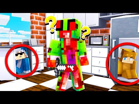 SCARY* YOUTUBER HIDE AND SEEK in MINECRAFT! (With