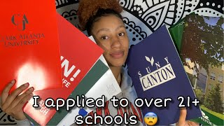 2019 I APPLIED TO OVER 21+ COLLEGES |APPLICATION PROCESS | FEE WAIVERS| FASFA| ACCEPTANCE LETTERS