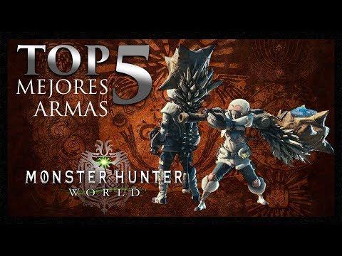 [Masa Guía] Monster Hunter World - TOP 5 Mejores Cornamusas [Español]