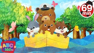 Row Row Row Your Boat (2D) | +More Nursery Rhymes & Kids Songs - Cocomelon (ABCkidTV)