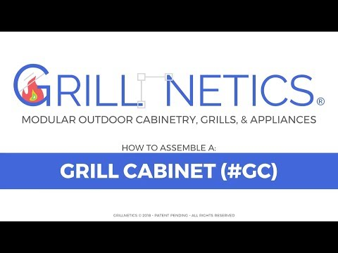 How to Build a Grillnetics Grill Cabinet