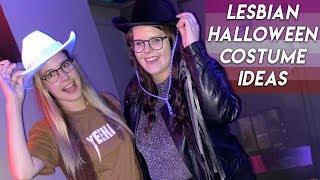 LESBIAN HALLOWEEN COUPLES COSTUME IDEAS (gay)