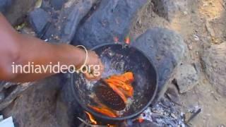 Fish fry in Hogenakkal