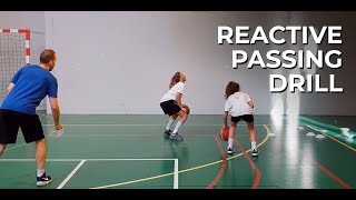 REACTIVE PASSING DRILL 😮