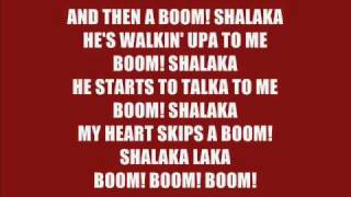 Anjulie - Boom (lyrics)