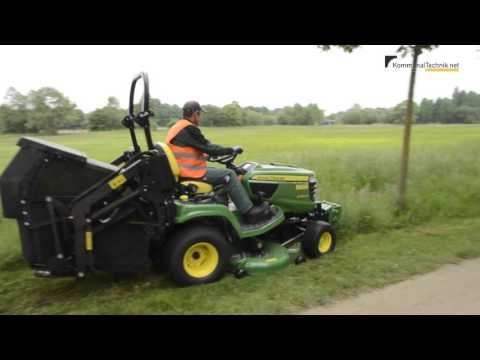 KommunalTechnik PraxisTest: John Deere X950R und John Deere JX90CB