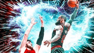 LeBron James - Most Explosive Dunks of 2018