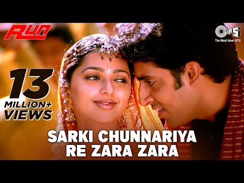Sarki Chunariya Re Zara Zara - Video Song | Run | Abhishek Bachchan, Bhoomika