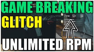 The Division 1.7   UNLIMITED RPM GLITCH - UNLIMITED RPM ON ANY GUN