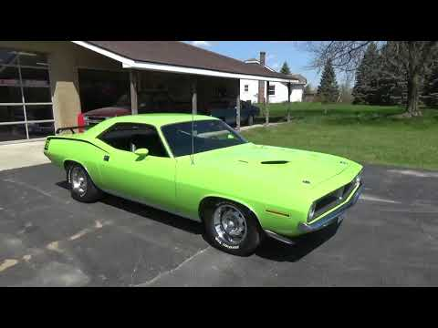 Video of 1970 Cuda Offered by Ross Custom Muscle Cars LLC - Q105