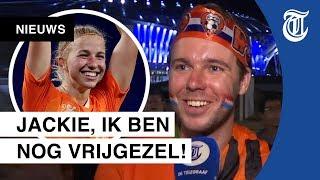 Oranjefans in extase: 'Ik wil met Jackie op date!'