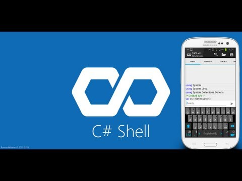 Video of C# Shell (Compiler REPL) Free