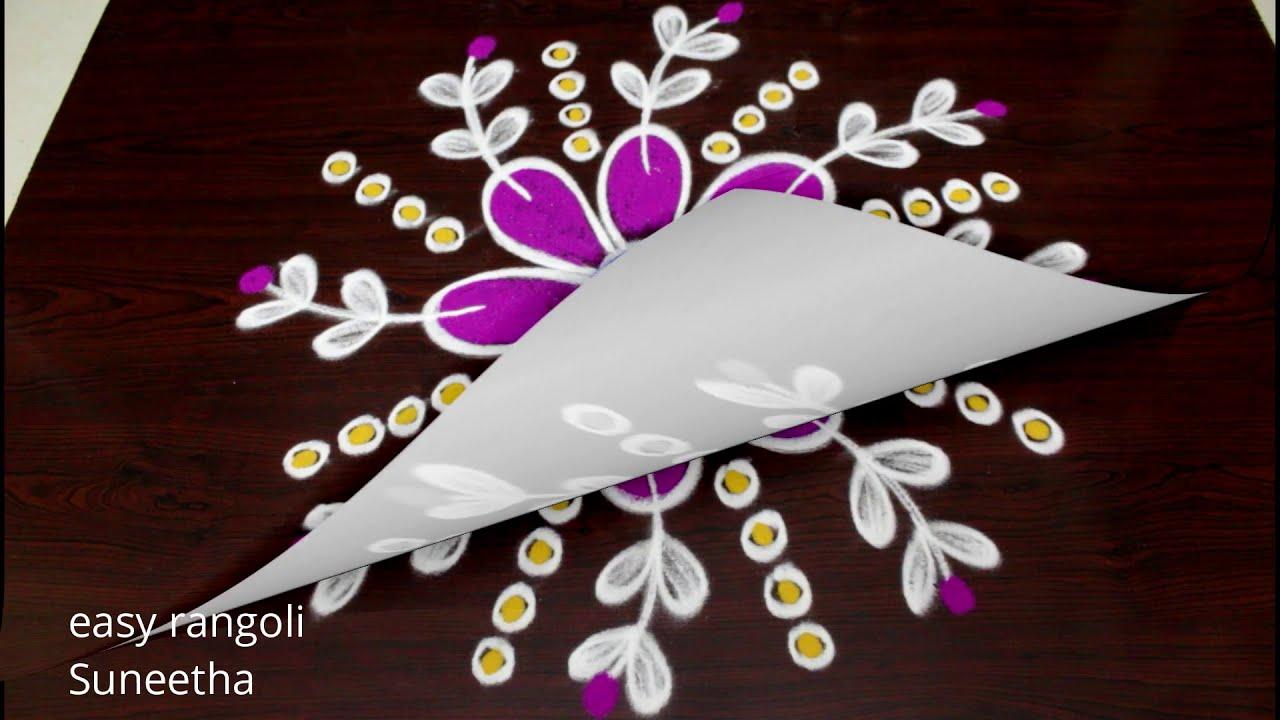ganesh chathurthi hindu festival rangoli by easy rangoli