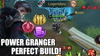 THE PERFECT BUILD FOR GRANGER IS HERE!
