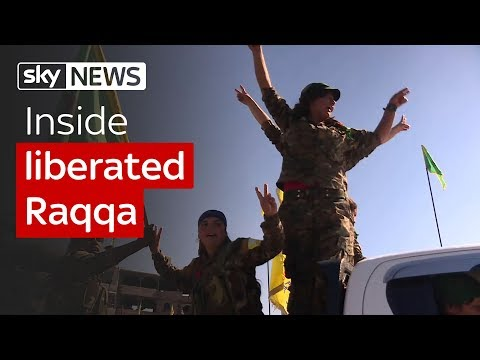 Inside liberated Raqqa
