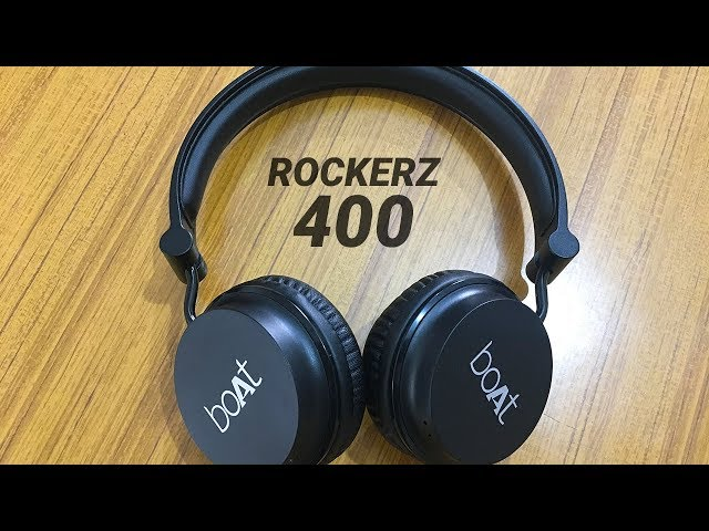 Boat Rockerz 400 Headphones Review with Pros & Cons (Hindi)