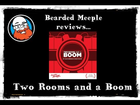 Bearded Meeple reviews Two Rooms and a Boom