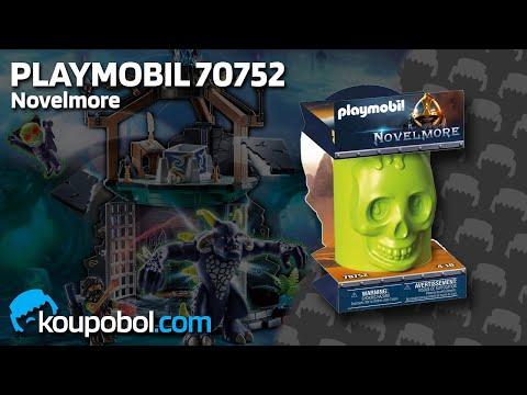 Vidéo PLAYMOBIL Novelmore 70752 : Skeleton Surprise Box - Sal'ahari Sands Troupe de squelettes (Série 1)