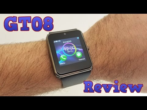 GT08 Smartwatch - Phone REVIEW - Is a $16 watch worth it?