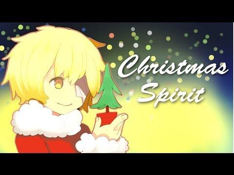 【Vocaloid Oliver】 Christmas Spirit 【Original Vocaloid Song】