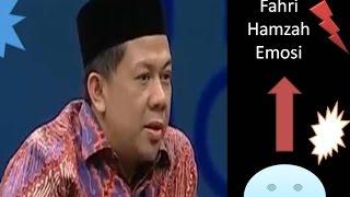 Parah...Fahri Hamzah Emosi Terkait Hak Angket DPR...