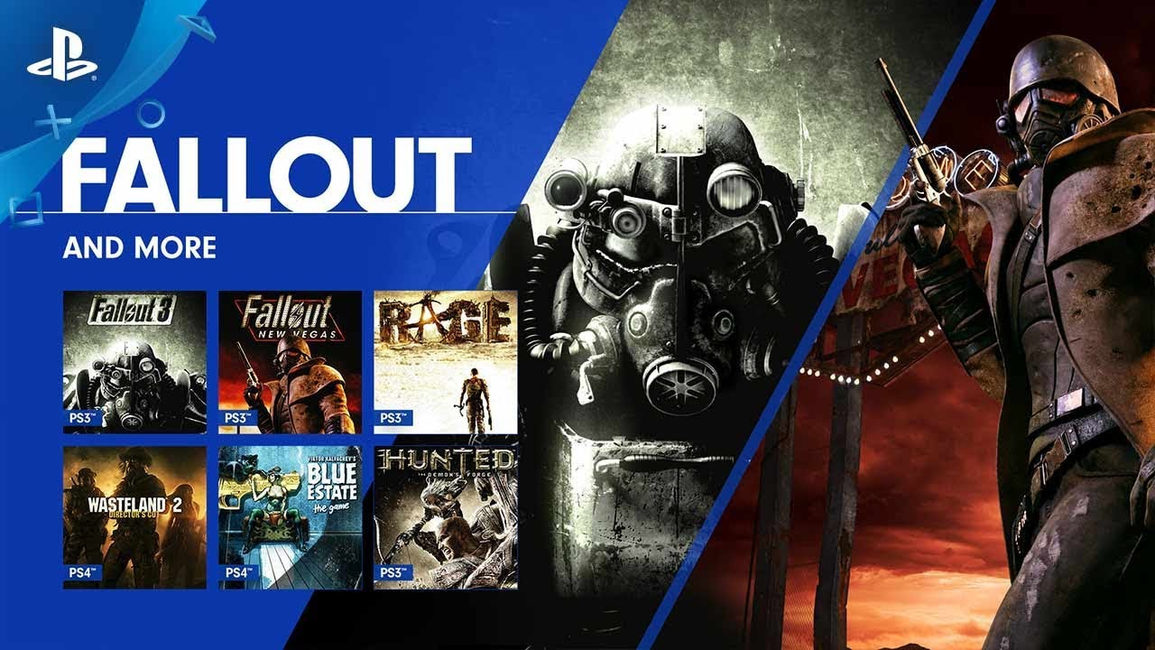 Fallout 3 and Fallout: New Vegas Join the PS Now Library