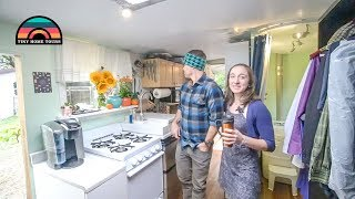 DIY Cargo Trailer Conversion // Full Time Tiny Living 100% Off The Grid