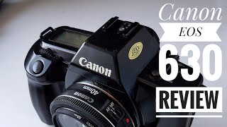 Canon EOS 630 SLR   35mm Film Camera. My Thoughts.