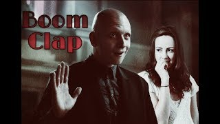 Victor Zsasz & Johanna Mason [Boom Clap] AU