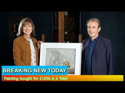 Breaking News - Painting bought for £165k is a 'fake'