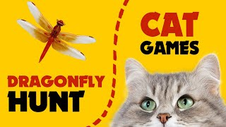 CAT GAMES ★ FAST DRAGONFLY HUNT on screen