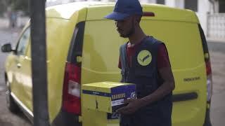 preview picture of video 'À la Poste De Djibouti nous livrons beaucoup de bonheur et... Parfois des factures'